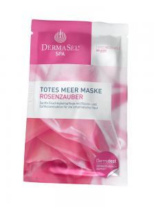 Masca de Fata Hidratanta DermaSel SPA cu Petale de Trandafir - 12 ml