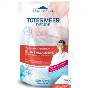 Sare De Baie Pt Articulatii Si Muschi Salthouse Cu Minerale, 400 g + 20 ml