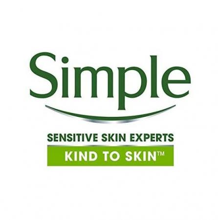 Exfoliant delicat pentru ten Simple Smoothing Facial Scrub cu granule de orez, 75 ml3