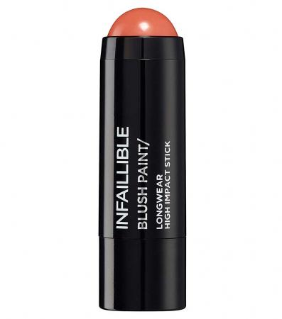 Fard de obraz stick L'Oreal Paris Infaillible Blush Paint, 02 Tangerine Please, 7 g