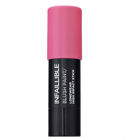 Fard de obraz stick L'Oreal Paris Infaillible Blush Paint, 03 Fuschia Warhol, 7 g