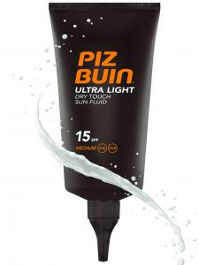 Fluid Piz Buin Ultra Light Dry Touch cu Protectie Solara SPF 15, 150 ml