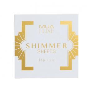 Foite iluminatoare Luxe Shimmer Sheet MUA Makeup Academy Professional - White Gold1
