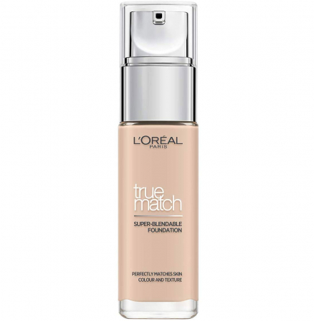Fond De Ten L'Oreal Paris True Match Super Blendable - 0.5.R/0.5.C Rose Porcelain, 30 ml0