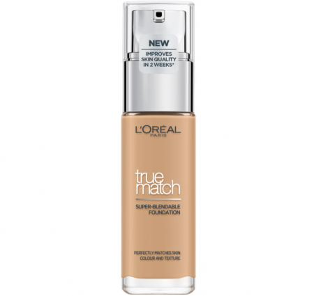 Fond De Ten L'Oreal Paris True Match Super Blendable - 3.D/3.W Golden Beige, 30 ml