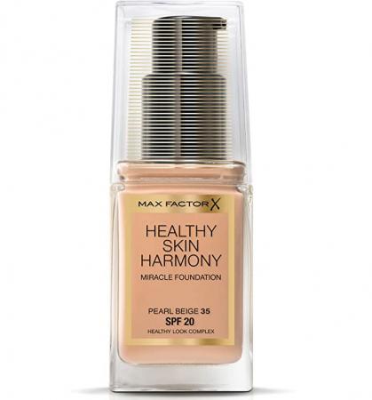 Fond de ten Max Factor Healthy Skin Harmony Miracle, 35 Pearl Beige, 30 ml