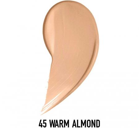 Fond de ten Max Factor Healthy Skin Harmony Miracle, 45 Warm Almond, 30 ml1