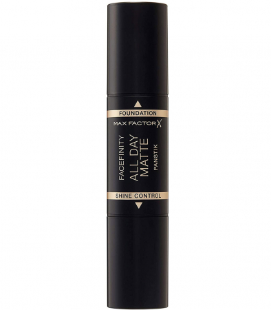Fond de ten anti-stralucire Max Factor Facefinity All Day Matte Panstik, 45 Warm Almond4
