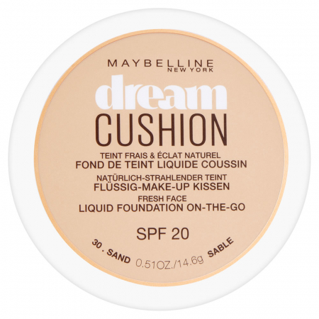 Fond de ten Maybelline Dream Cushion Liquid Foundation, 30 Sand, 14.6 g0