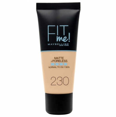 Fond de ten MAYBELLINE FIT ME Matte & Poreless 230 Natural Buff, 30 ml