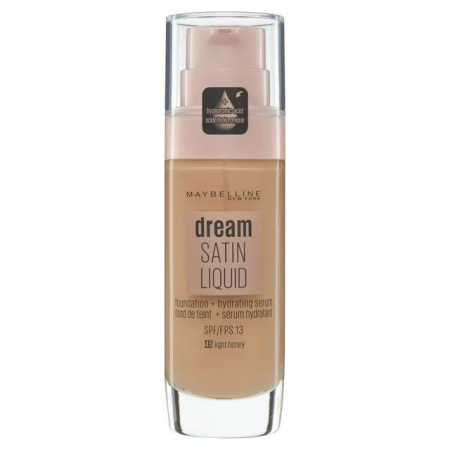 Fond de ten Maybelline New York Dream Satin SPF 13, 45 Honey, 30 ml