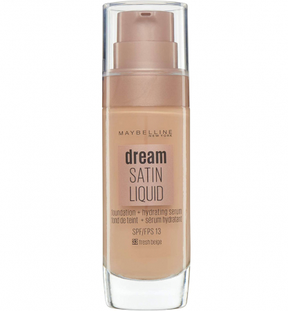 Fond de ten Maybelline New York Dream Satin SPF 13, 33 Fresh Beige,  30 ml