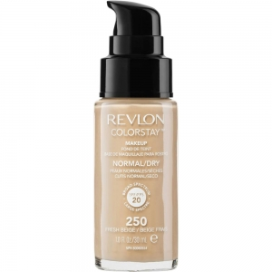 Fond De Ten Revlon Colorstay Normal / Dry Skin Cu Pompita - 250 Fresh Beige, 30 ml