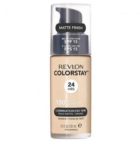 Fond De Ten Revlon Colorstay Oily Skin MATTE FINISH, 24H, SPF 15 - 150 Buff, 30ml0