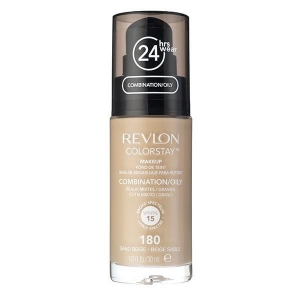 Fond De Ten Revlon Colorstay Oily Skin Cu Pompita - 180 Sand Beige, 30ml