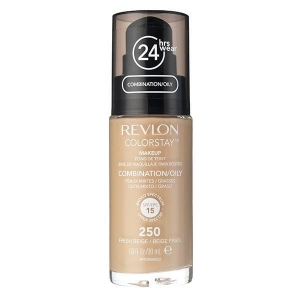 Fond De Ten Revlon Colorstay Oily Skin Cu Pompita - 250 Fresh Beige, 30ml