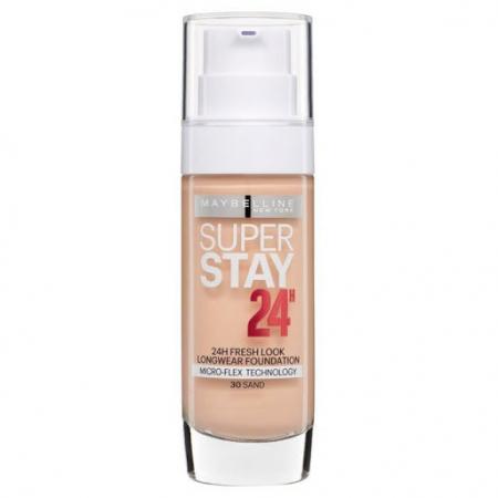 Fond de ten rezistent la transfer Maybelline New York SuperStay 24H, 030 Sand, 30 ml