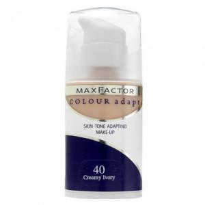 Fond de Ten Lichid MAX FACTOR Colour Adapt - 40 Creamy Ivory, 34 ml