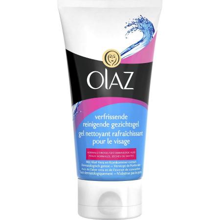 Gel de curatare facial, calmant si hidratant, OLAZ Face Wash, cu Aloe Vera si Castravete, 150 ml
