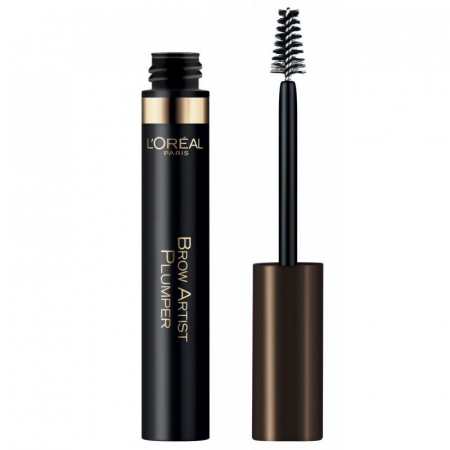 Mascara pentru sprancene L'Oreal Paris Brow Artist PLUMPER, Medium/Dark, 7 ml0