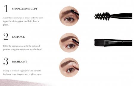 Paleta pentru definirea sprancenelor BOURJOIS Paris Brow Palette, Blonde, 4.5 g5