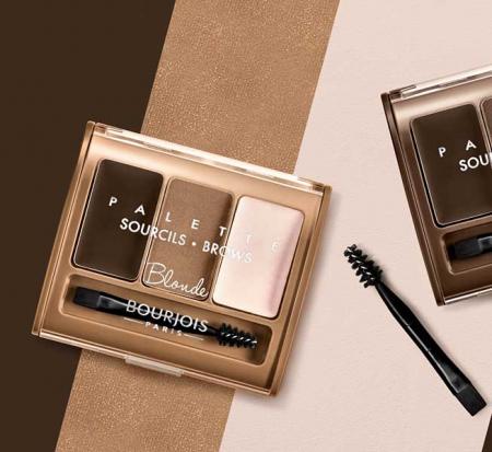 Paleta pentru definirea sprancenelor BOURJOIS Paris Brow Palette, Blonde, 4.5 g2
