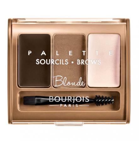 Paleta pentru definirea sprancenelor BOURJOIS Paris Brow Palette, Blonde, 4.5 g0