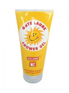 Gel de Dus Smiley VILLAGE COSMETICS cu Lamaita - 200 ml
