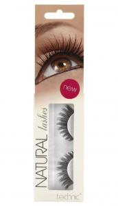 Gene False cu Aspect Natural TECHNIC Natural Lashes, adeziv inclus A13