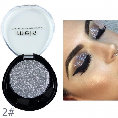 Glitter Multifunctional Meis New Attractive Color - 02 Brilliant Silver, 4.5g1