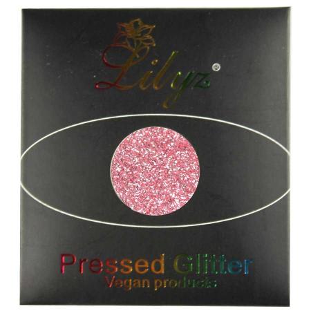 Glitter ochi Lilyz Pressed Vegan Glitter, Pinky Promise, 1.5 g1