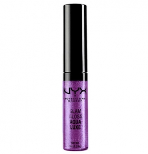 Gloss  Nyx Professional Makeup Glam Aqua Luxe - Tuesday Night Disco, 7 ml