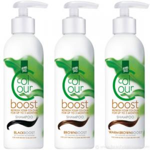 Sampon colorant HennaPlus Colour Boost, Brown - 200 ml1