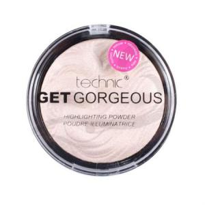 Iluminator cu particule irizante Technic Get Gorgeous Highlighting Powder, 12g