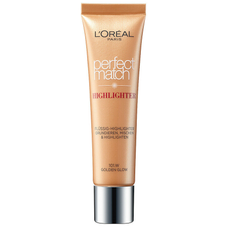 Iluminator L'Oreal Perfect Match Highlight Liquid Golden Glow, 30 ml