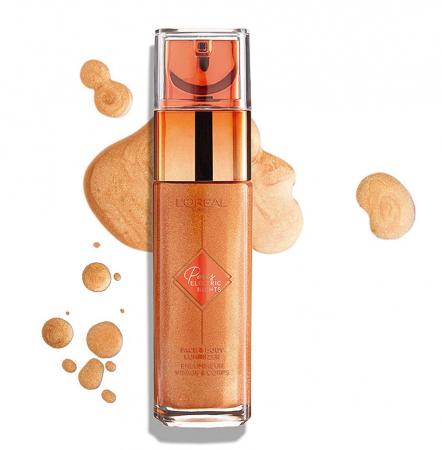 Iluminator lichid pentru ten si corp L'Oreal Paris ELECTRIC NIGHTS Face & Body Luminizer, 30 ml2