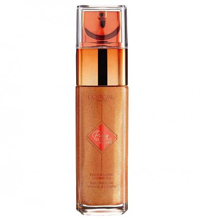 Iluminator lichid pentru ten si corp L'Oreal Paris ELECTRIC NIGHTS Face & Body Luminizer, 30 ml