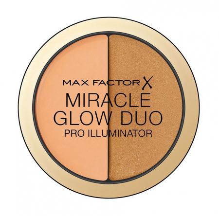 Iluminator MAX FACTOR Miracle Glow Duo Pro Illuminator, 30 Deep, 11 g
