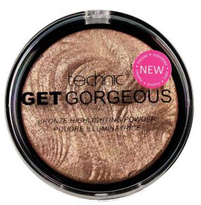 Iluminator cu particule bronzante Technic Get Gorgeous Highlighting Powder, 12g0