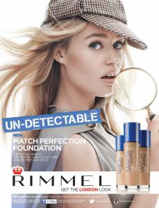 Fond de Ten Rimmel Match Perfection - 100 Ivory, 30 ml2
