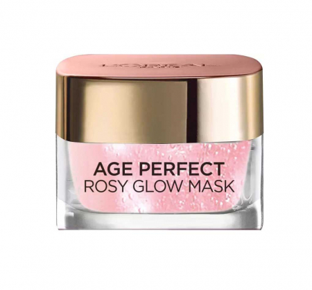 Masca regeneranta pentru ten imbatranit L'Oreal Paris Age Perfect Rosy Glow, 50 ml2