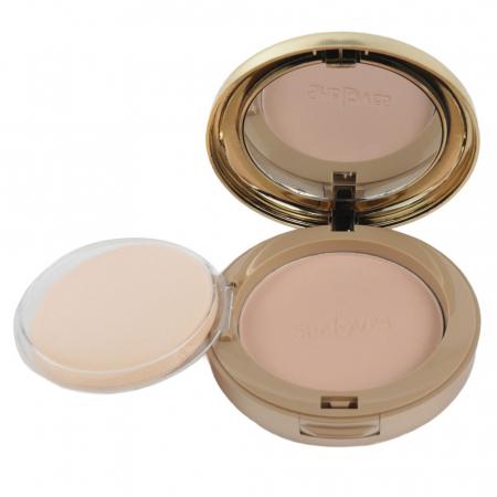 Kit cu 2 Pudre compacte, Rezistente la Transfer, efect mat, She Loves Best Face Powder, 021
