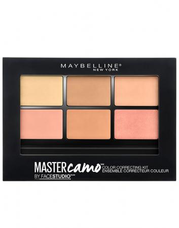 Kit pentru corectarea imperfectiunilor Maybelline New York Master Camo 02 Medium, 6.5 g