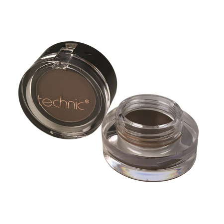 Kit pentru sprancene TECHNIC Brow Pomade & Powder Duo, Medium, 3 g + 1.8 g0