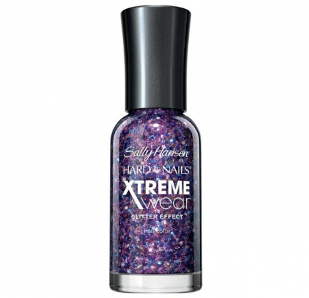 Lac de unghii Sally Hansen Hard As Nails Xtreme Wear, Glitter Effect, 450 Jam Packed