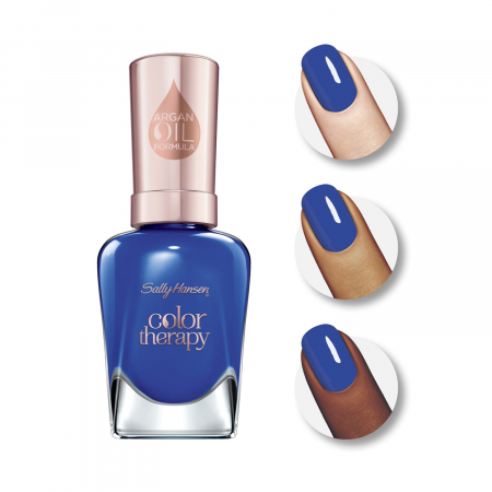 Lac De Unghii Sally Hansen Color Therapy, Tratament cu Ulei de Argan, 440 Ja-cozy 14.7 ml1