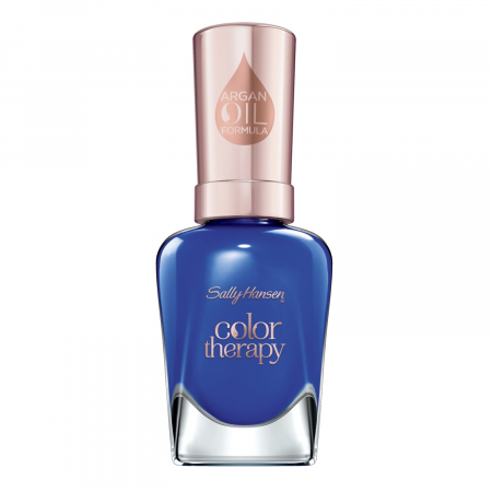 Lac De Unghii Sally Hansen Color Therapy, Tratament cu Ulei de Argan, 440 Ja-cozy 14.7 ml0