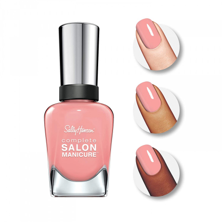 Lac de unghii Sally Hansen Complete SALON Manicure, 203 Crazy Stupid Blush, 14.7 ml1