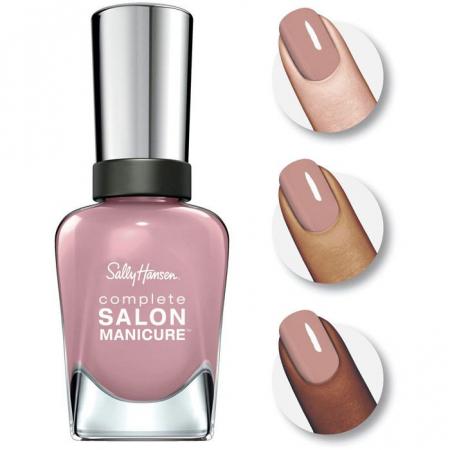 Lac de unghii Sally Hansen Complete SALON Manicure, 302 Rose to the Occasion, 14.7 ml1