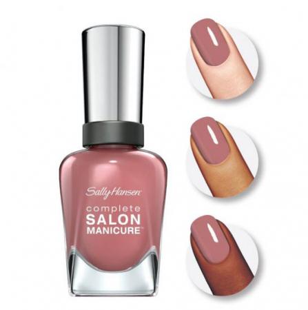 Lac de unghii Sally Hansen Complete SALON Manicure 260 So Much Fawn, 14.7 ml1